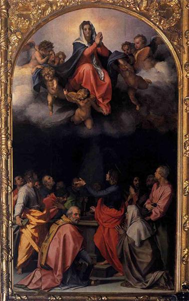 Assumption of the Virgin, 1526 - 1529 - Andrea del Sarto