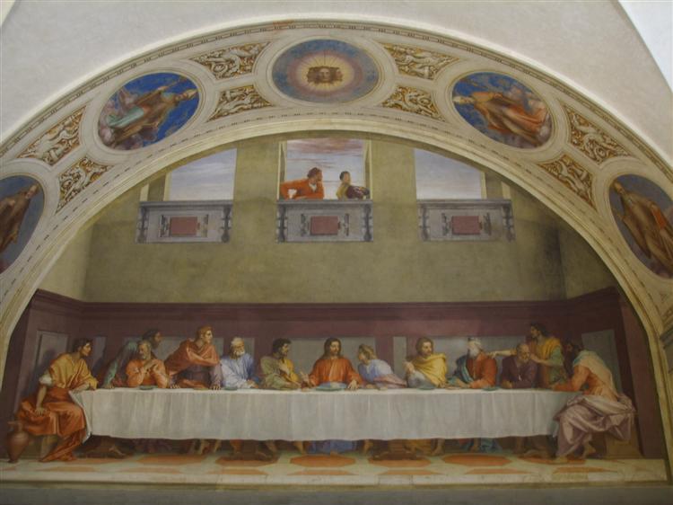 The Last Supper, 1520 - 1525 - Andrea del Sarto