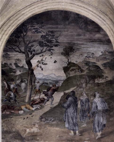 The Punishment of the Sinners, 1510 - Andrea del Sarto