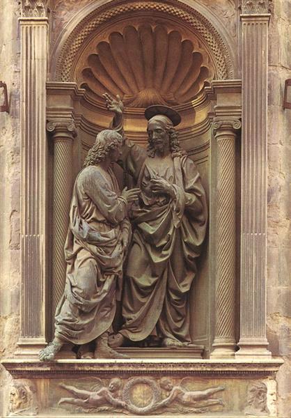 The Doubting Thomas, 1476 - 1483 - Андреа Верроккьо