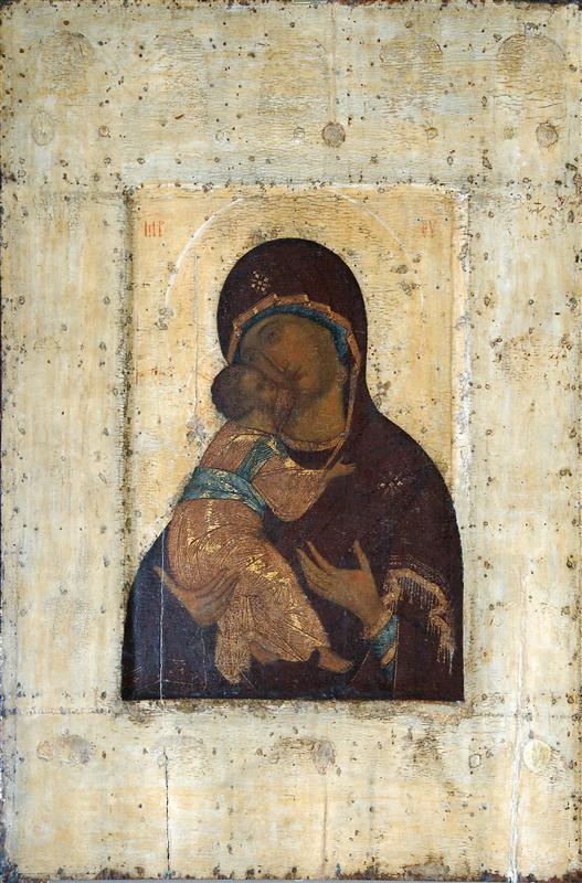 Богоматерь Владимирская, ок.1400