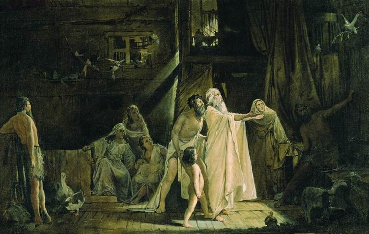 Noah's Ark, 1882 - Андрей Рябушкин