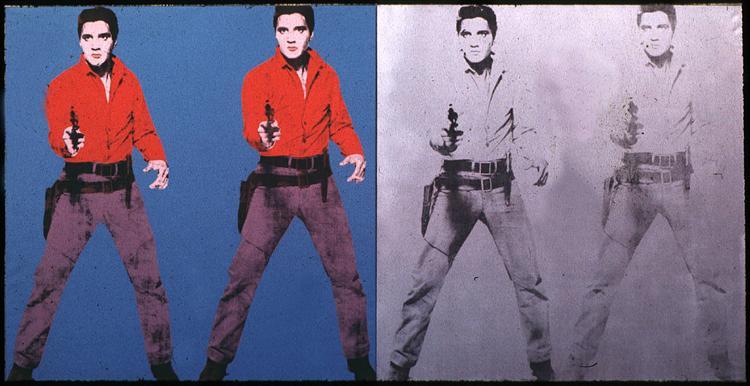 Elvis I & II, 1963 - Andy Warhol