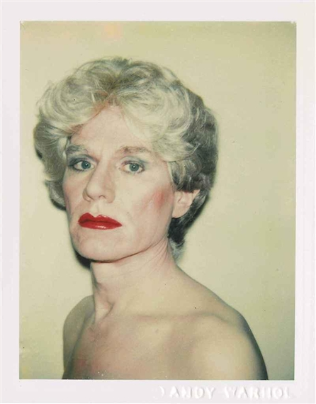 Self-Portrait in Drag, 1982 - Andy Warhol