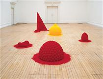 To Reflect an Intimate Part of the Red - Anish Kapoor
