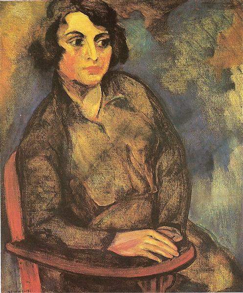 A estudante russa, 1915 - Anita Malfatti