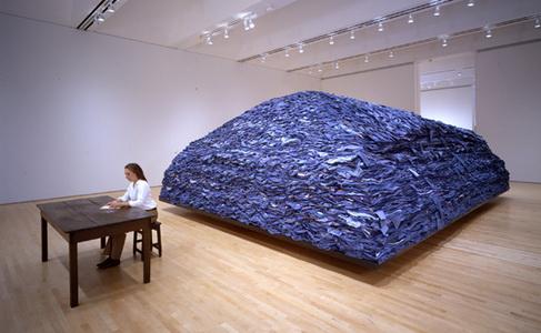 Indigo Blue, 2007 - Ann Hamilton