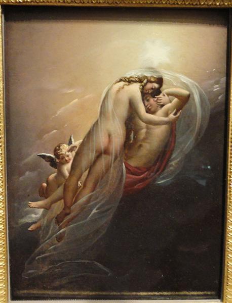Aurora and Cephalus, 1810 - Анн-Луї Жироде-Тріозон