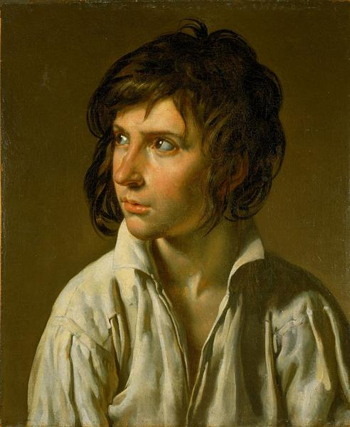 Portrait of a Youth, 1795 - Anne-Louis Girodet