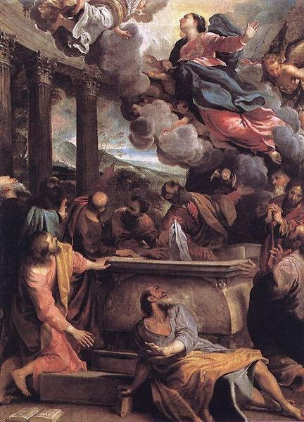 The Assumption of the Virgin, c.1590 - Annibale Carracci