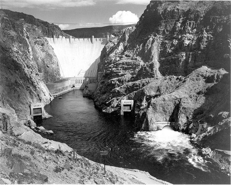 Boulder Dam - Ansel Adams