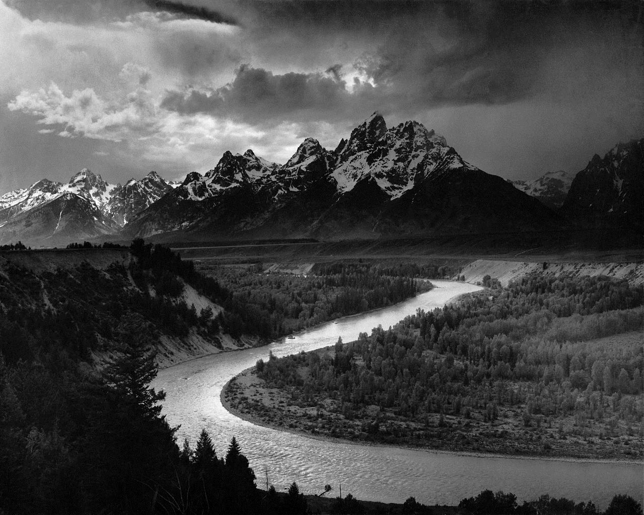 The Tetons and the Snake River, 1942