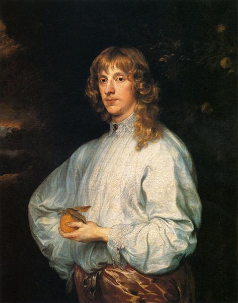 James Stuart, Duke Of Richmond And Lennox With His Attributes, c.1633 - 1634 - Anton van Dyck