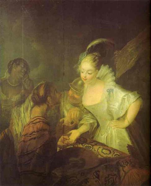 Fortune Teller, c.1710 - Antoine Pesne