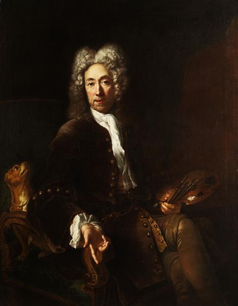 Portrait of Jean Baptiste Gayot Dubuisson, c.1725 - Antoine Pesne