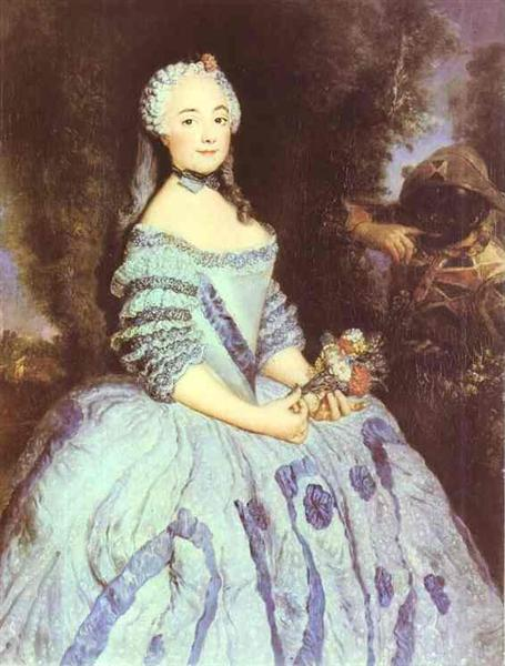 The Actress Babette Cochois - Pesne Antoine