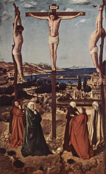 Crucifixion, 1455 - Antonello da Messina