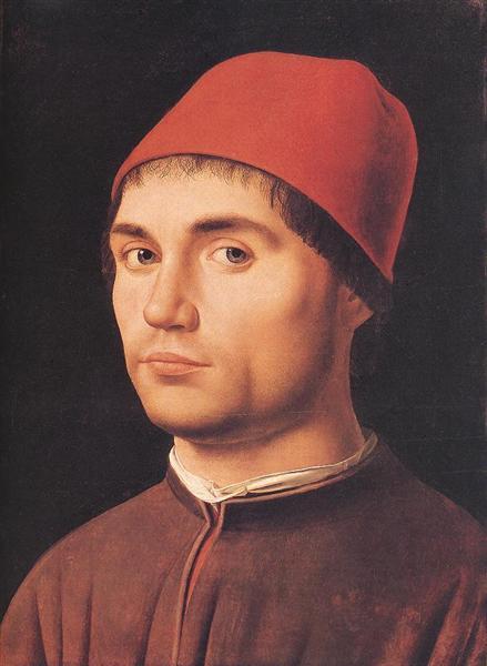 Portrait of a Man, 1475 - Antonello da Messina
