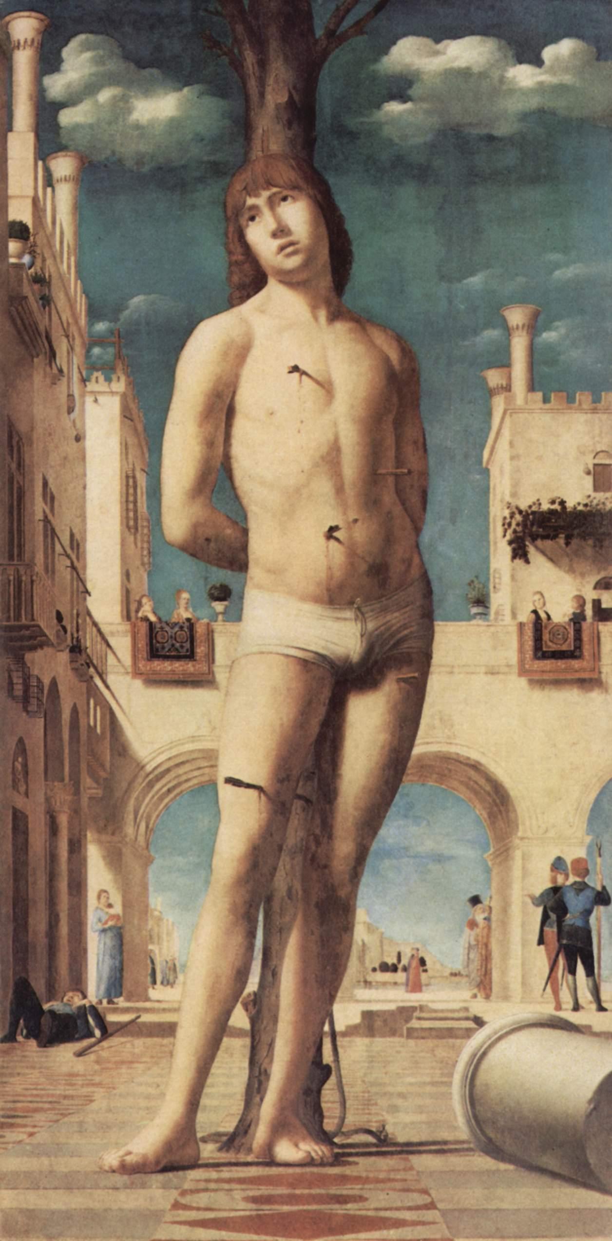 Antonello da Messina st Sebastian st Sebastian Antonello da