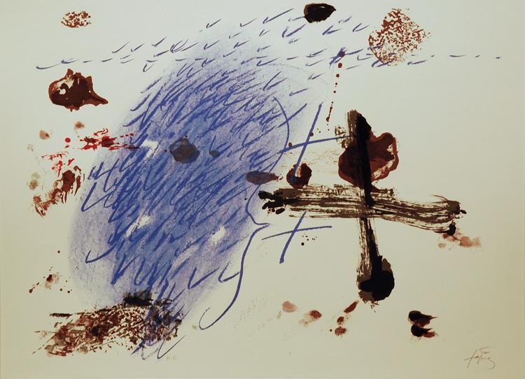 Ban de Loo Cologne, 1972 - Antoni Tapies