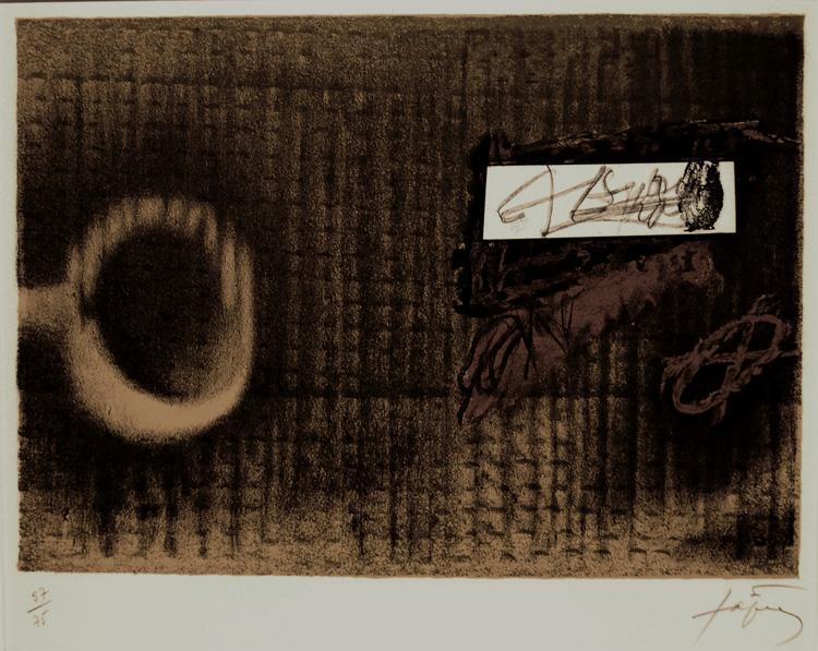 Etiquette, 1979 - Antoni Tapies