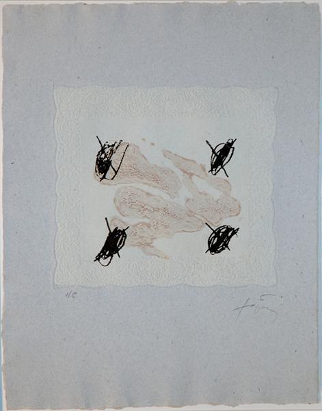 Petrificada Petrificante II, 1978 - Antoni Tapies