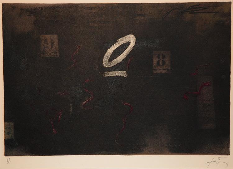 Sous Zero, 1979 - Antoni Tapies