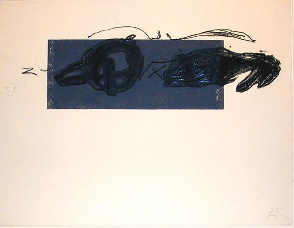 Z, 1981 - Antoni Tapies