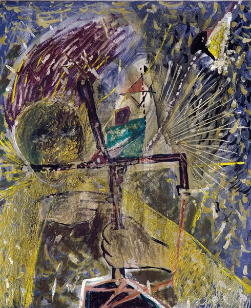Personage, 1947 - Antoni Tapies