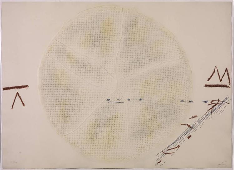 The Sieve, 1972 - Antoni Tapies