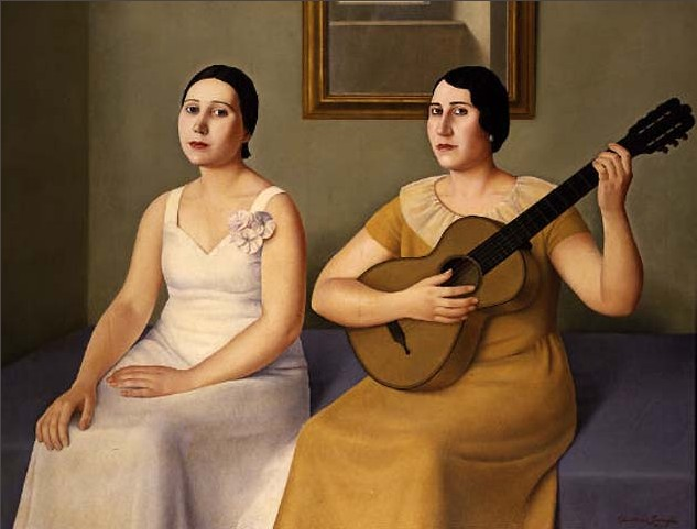 Before the Singing, 1930 - Antonio Donghi