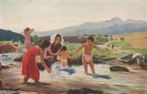 On the shore of the river - Ara Bekaryan