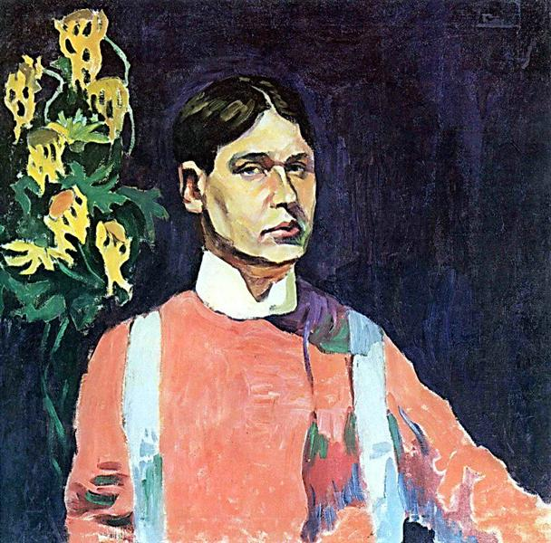 Self-portrait, 1913 - Aristarkh Lentulov