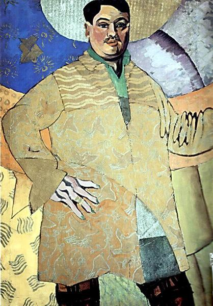 Self-portrait, 1915 - Aristarkh Lentulov