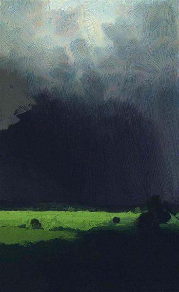 After a Rain, 1879 - Arkhip Kuindzhi