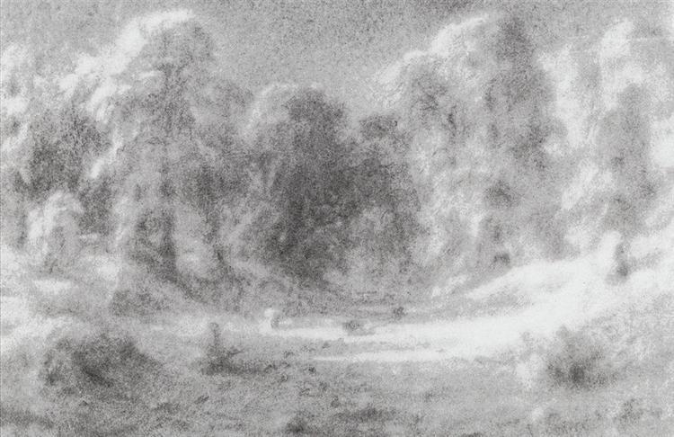 Forest Glade - Arkhip Kuindzhi