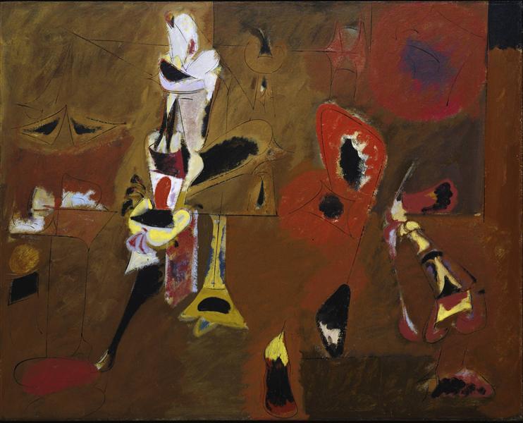 Agony, 1947 - Arshile Gorky