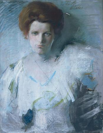 Frances Metzger West, 1907 - Arthur Beecher Carles