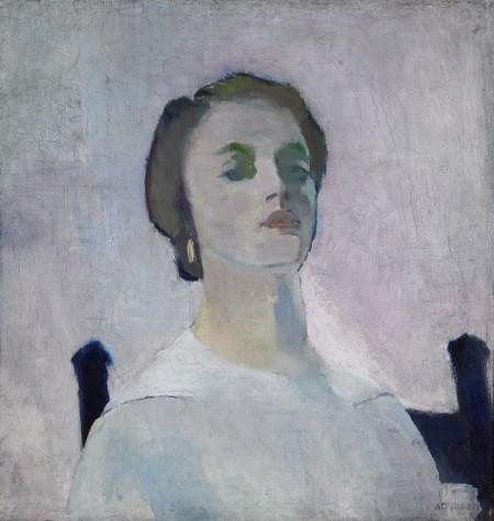 Portrait of Katharine Rhoades - Arthur Beecher Carles