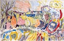 Untitled Landscape, Bellport (No.0001) - Arthur Pinajian