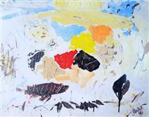 Untitled Landscape, Bellport (No.1042) - Arthur Pinajian