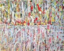 Untitled Landscape, Bellport (No.1137) - Arthur Pinajian
