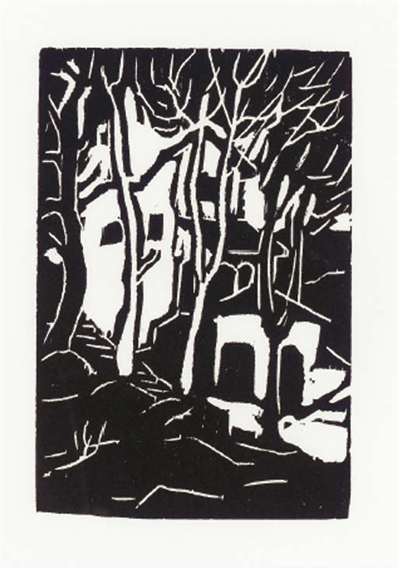 Woodcut - Arthur Segal
