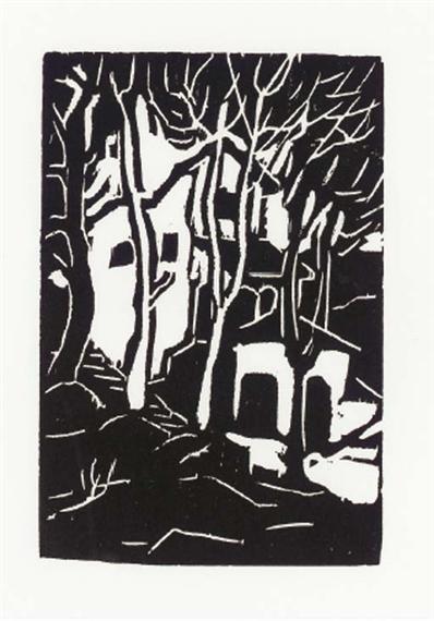 Woodcut - Артур Сегал