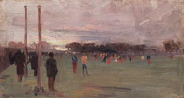 The National Game - Arthur Streeton
