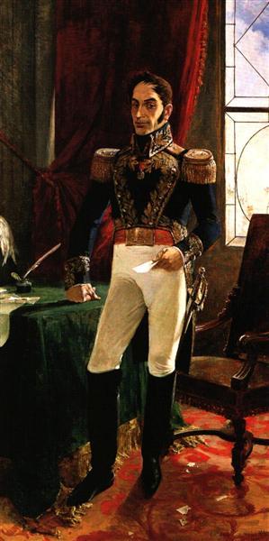 El Libertador en traje de campaña, 1895 - Артуро Міхелена