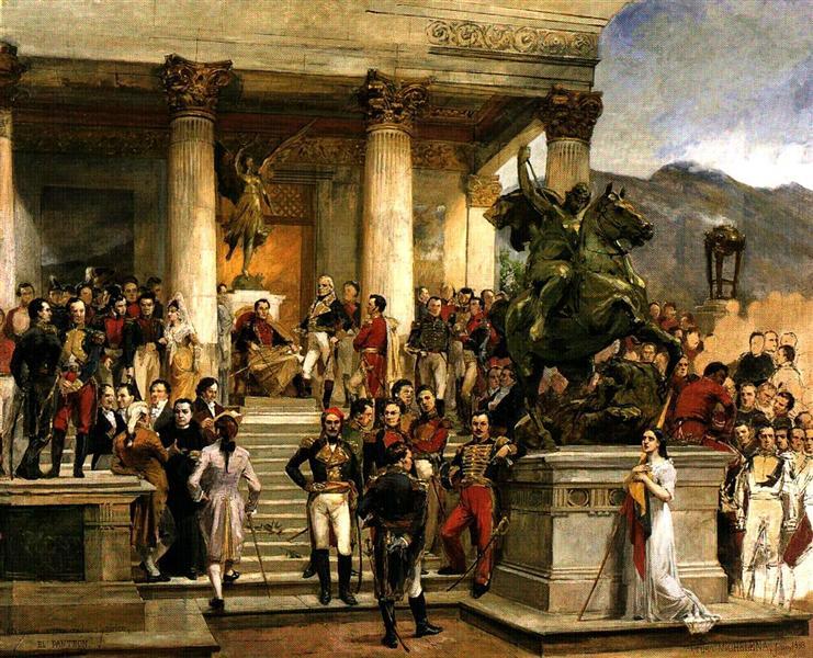 El panteon de los heroes, 1898 - Артуро Міхелена