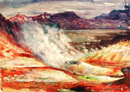 Mt. Námafjall in N.-Iceland, 1951 - Asgrimur Jonsson