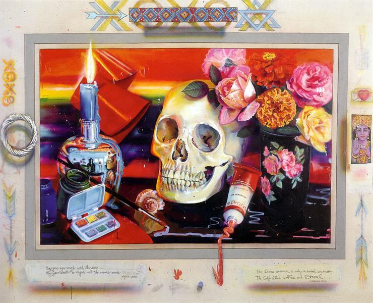 Invocation, 1982 - Audrey Flack