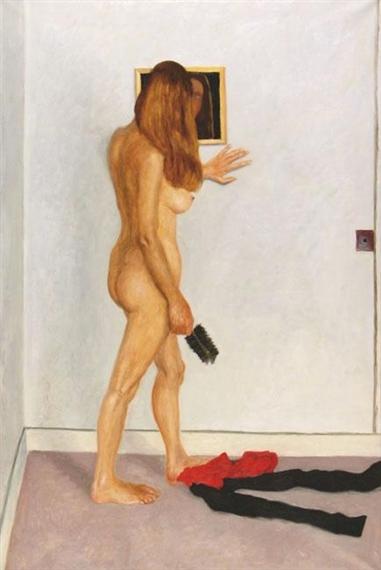 Mirror on the Wall, 1982 - Avigdor Arikha